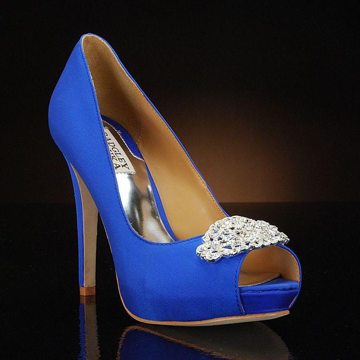 goodie wedding shoes by badgley mischka