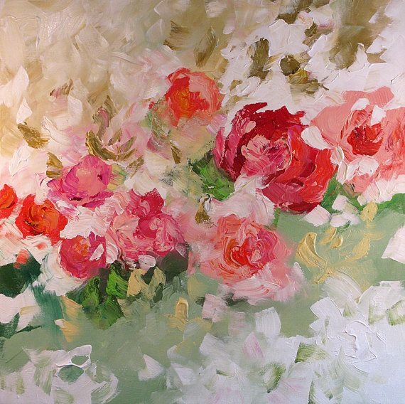 92 best images about acrylic oil paintings on pinterest for Floral acrylic paintings