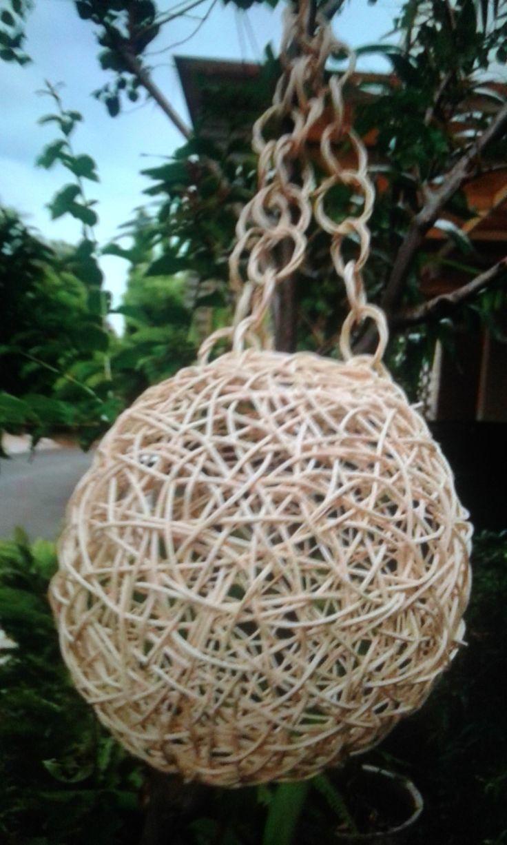 Stock Pendant lamp  rattan Natural