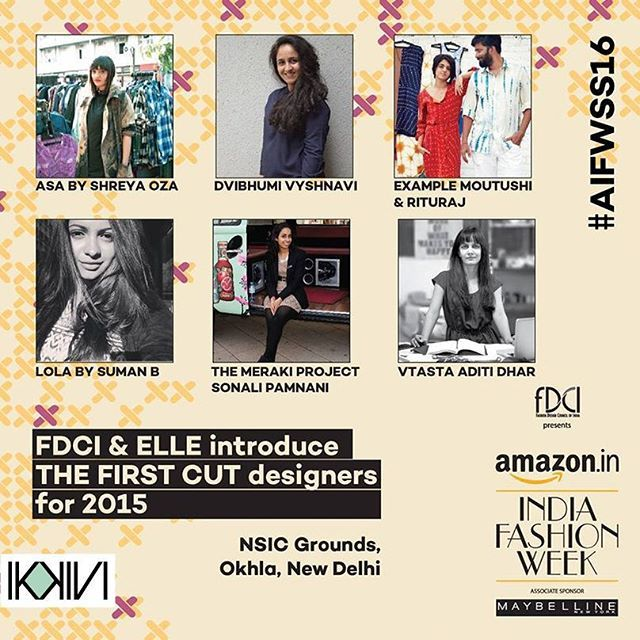 #Ikkivi at #AIFW DAY 3: Gearing up for #ellexfdci First Cut! Super stoked.