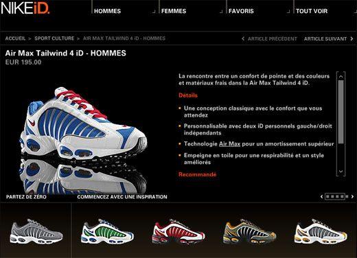 8f8ae553f0 Nike iD Air Max Tailwind 4 | Stuff to Buy | Nike id, Nike, Nike Air Max