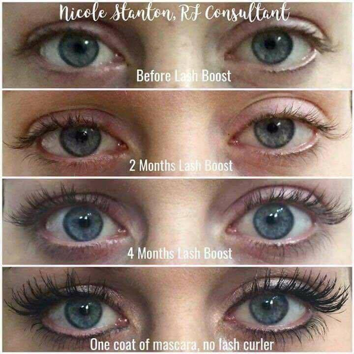 Looking for longer lashes? Look no further. Rodan and Fields Lash Boost will give you longer, fuller and darker looking lashes! Love it or get your money back! Check it out! Message me for more info!
