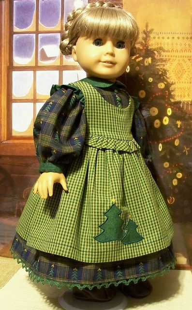 Kirsten's Christmas outfit by Keepersdollyduds, via Flickr
