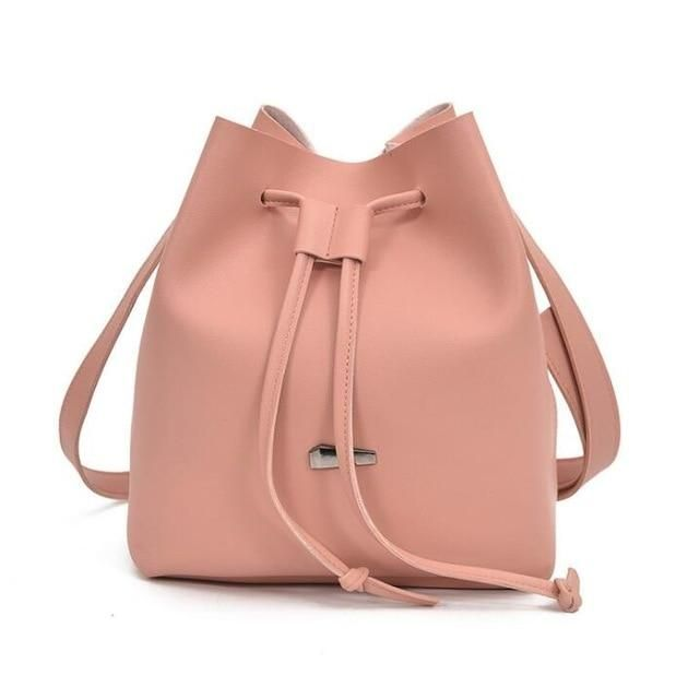 474731706c3 Bucket Leather Shoulder Sling Bag in 2019
