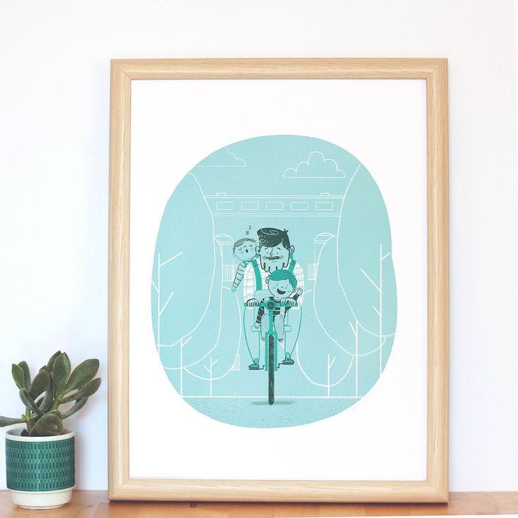 Uno y Medio, Dos, Tres - Ro Ledesma Illustration & Design