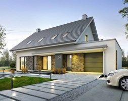Domy styl Nowoczesny - zdjęcie od DOMY Z WIZJĄ - nowoczesne projekty domów