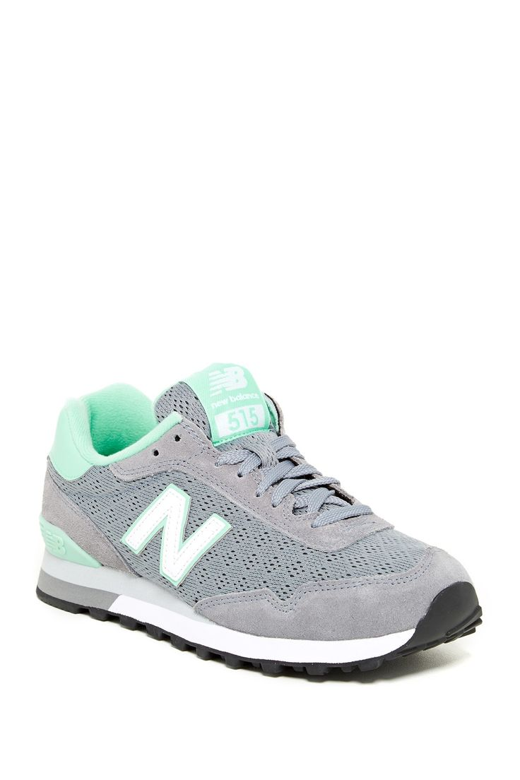 Love these Grey and Aqua New Balances