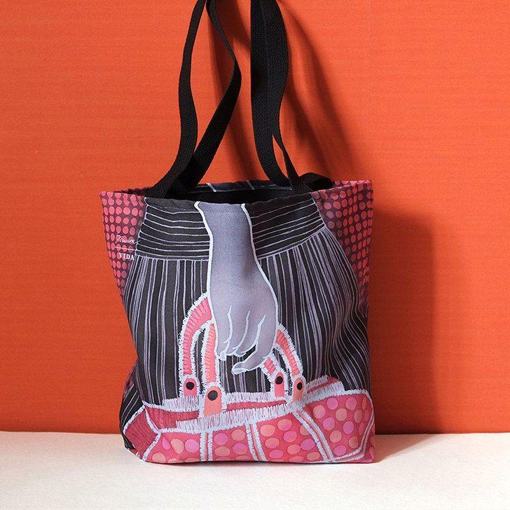 Tote Bag - Amoeba Feather by VIDA VIDA Free Shipping Amazon Get The Latest Fashion Hard Wearing hZnOY