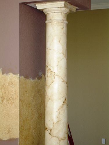How To Paint Marble Columns A Primer Marbles Columns Interiors Inside Ideas Interiors design about Everything [magnanprojects.com]