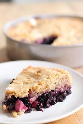 Wonderfully sweet, fresh, juicy Wild Blueberry an Apple Pie.