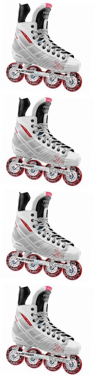 Roller Hockey 64669: Bonelite 500 Inline Hockey Skate, White, 4 -> BUY IT NOW ONLY: $301.29 on eBay!