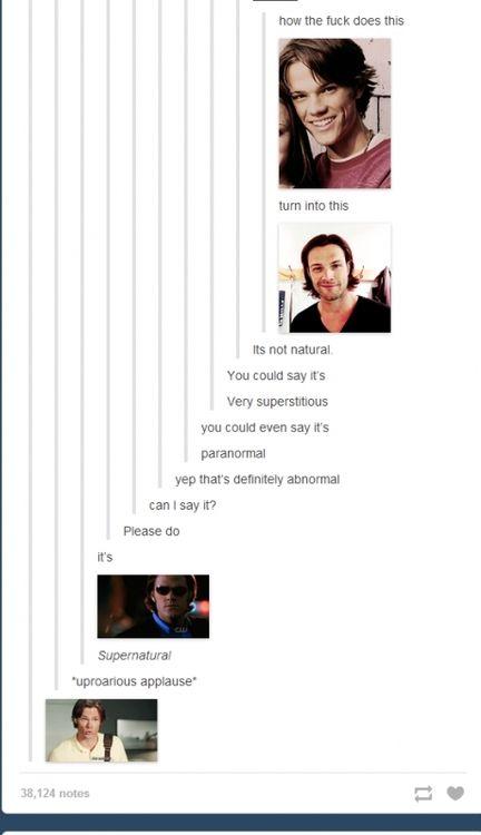 supernatural | Tumblr | Funny | Pinterest | Supernatural ...