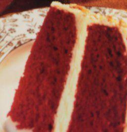 Roter Samt  Kuchen -Echt Amerikanisch schmeckt zart wie Samt - Leicht zu backen - Bild eingegeben
