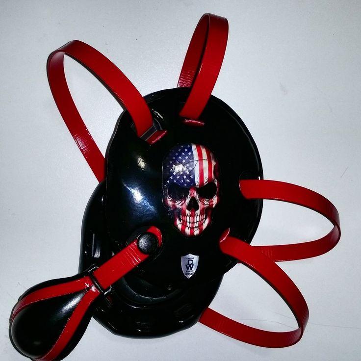 Custom Skull Wrestling Headgear