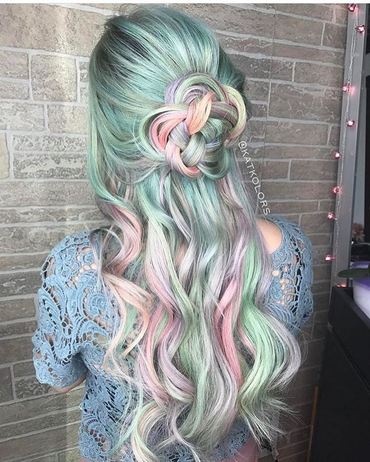 """11.5k Likes, 76 Comments - Pulp Riot Hair Color (@pulpriothair) on Instagram: """"@katkolors is the artist... Pulp Riot is the paint."""""""