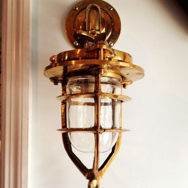 Nautical Brass Convoy Light!