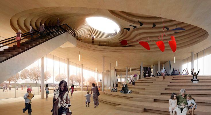 Helsinki Zentralbibliothek, Wir sindarchitecture + jaja architects – Beta Architectu …