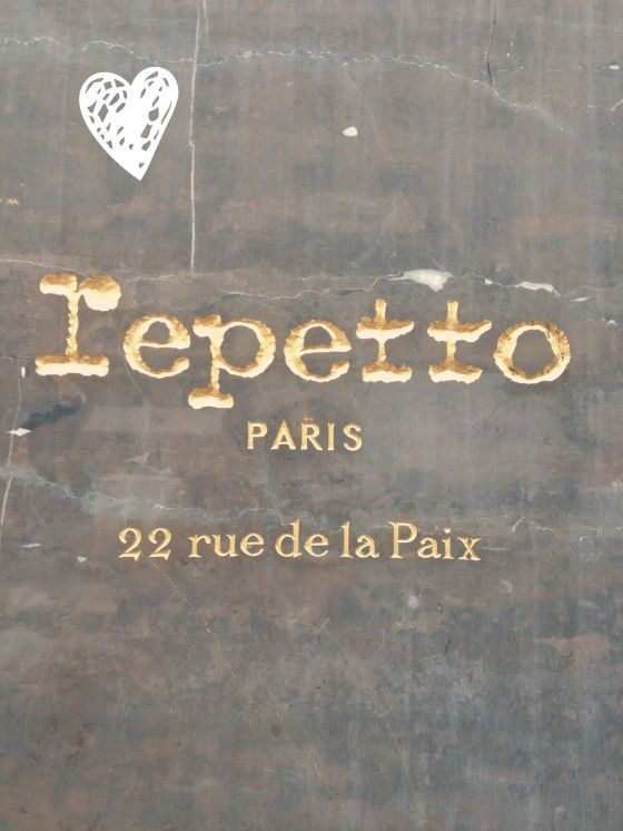 Repetto Shoe Shop on r de la Paix--my FAVORITE ballet flats on one of my FAVORITE Parisian streets right across from one of my FAVORITE Parisian restaurants. And they always have the most incredible windows!