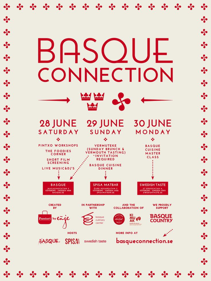 Basque Connection - Weekend (poster)