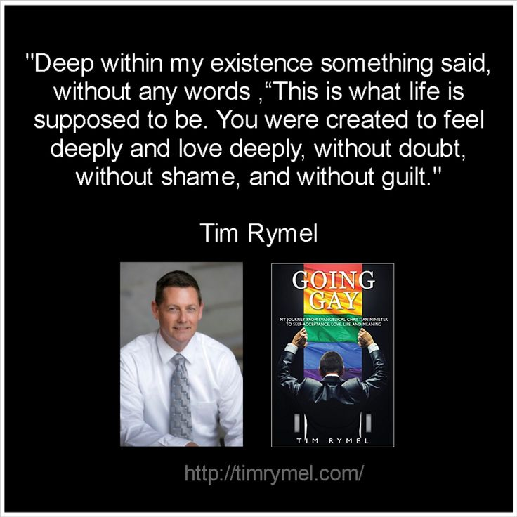 Quote by author Tim Rymel
