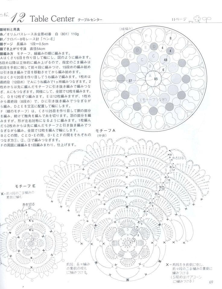 289 best Crochet Doilies Round images on Pinterest | Handtücher ...
