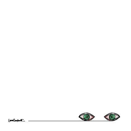 eyes by Luana Cavalcante, via Behance