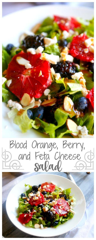 Blood Orange, Berry, and Feta Cheese Salad – Jordan's Easy Entertaining