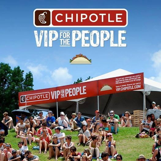 Hey St. Louis, don't forget that we'll be at LouFest Music Festival on Sept 6th and 7th with our VIP for the People set-up next to the BMI stage. Kick back with FREE TACOS AND DRINKS in our custom-built VIP lounge. coupons Chipotle http://www.pinterest.com/TakeCouponss/chipotle-coupons/