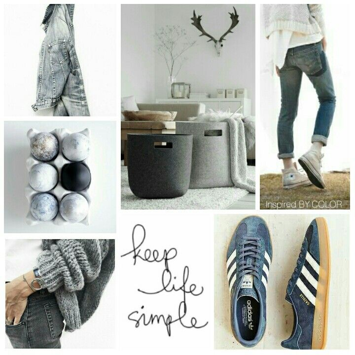 Moodboard 'keep life simple' Inspired BY COLOR  #fashion #lifestyle #interior
