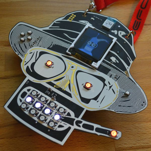 Hands-On: New AND!XOR Unofficial DEF CON Badge #cons #ANDXOR #ARMCortexM4F #bender #bluetooth