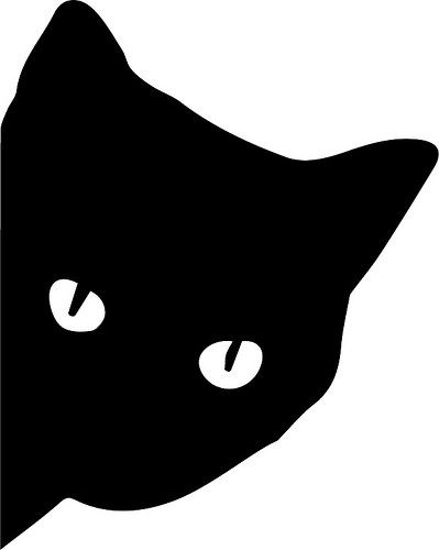 The 25 best stencils ideas on pinterest making stencils for Black cat templates for halloween