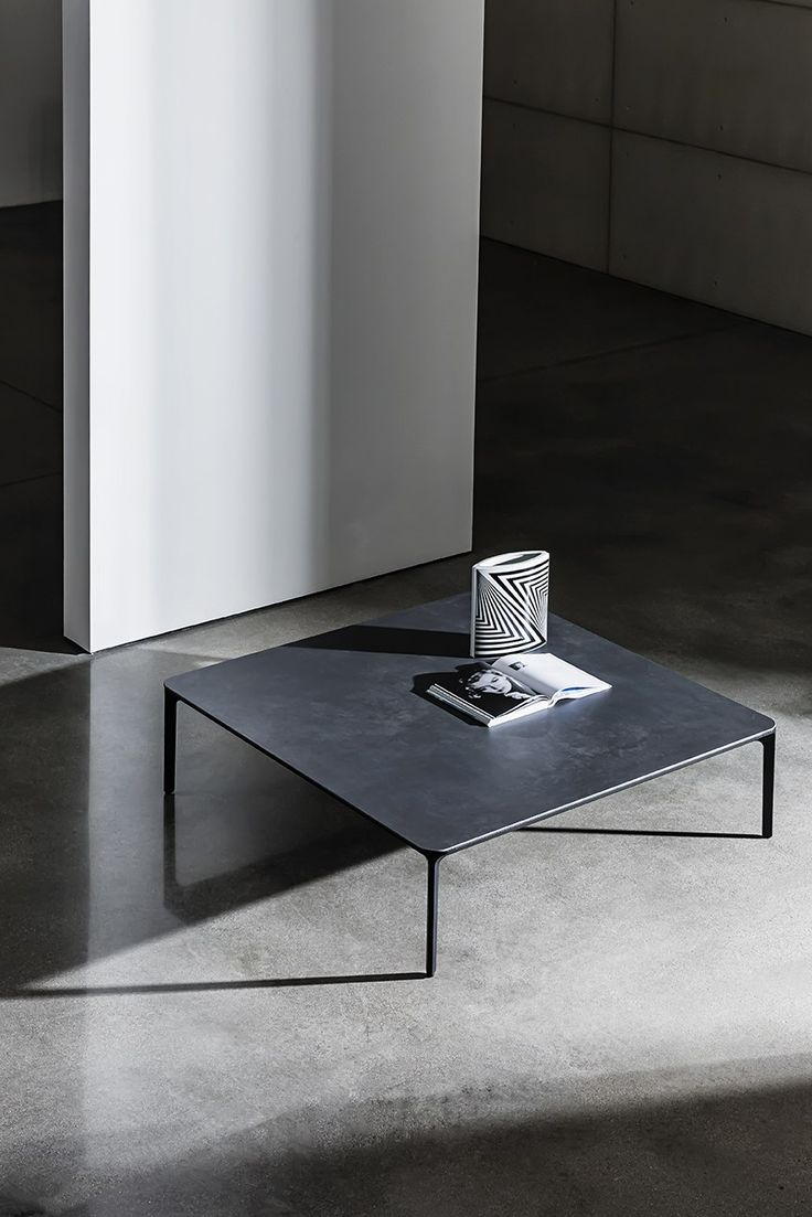 Coffee table SLIM H. 46 - @sovetitalia