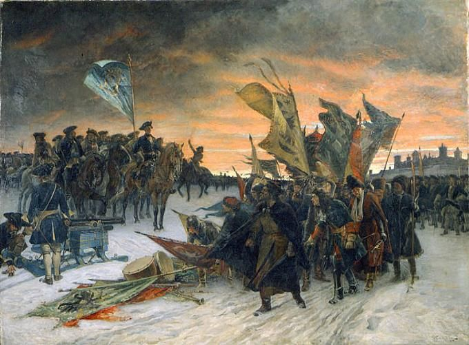 "The Great Northern War (1700-1711) was a conflict in which 3 Northern European states; Russia led by Tsar Peter I The Great, Poland-Lithuania-Saxony led by King Augustus II 'The Strong' & Sweden led by King Charles XII a brilliant general called the ""Last of the Vikings"", with various allies fighting for each of the sides at different times, including England, the Netherlands & the Ottoman Empire."