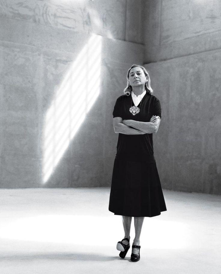 Miuccia Prada (Le Monde M Magazine)