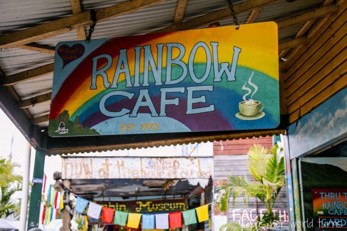 Rainbow Cafe in Nimbin, Australia