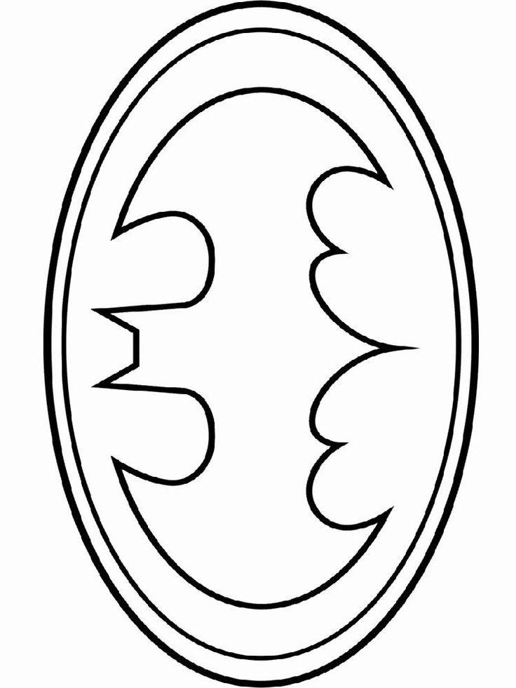 21++ Printable batman logo coloring pages information