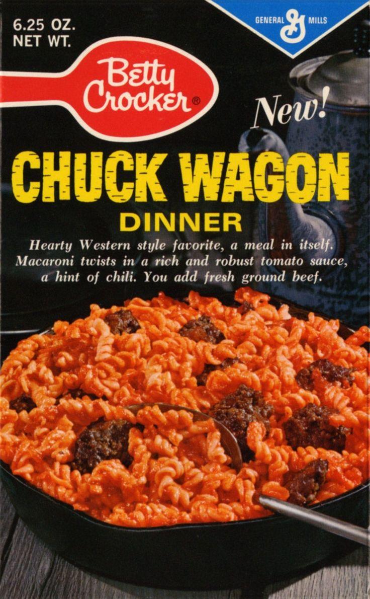 Before Hamburger Helper it was this! 1960's!