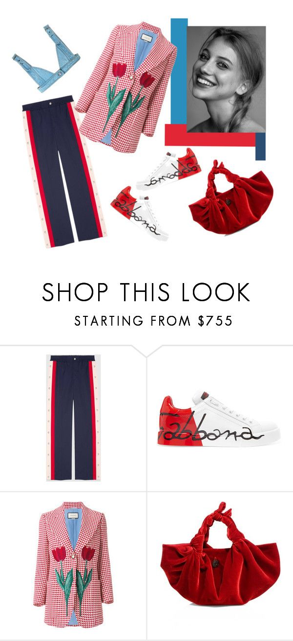 Веселым by repriza on Polyvore featuring мода, Gucci, Dolce&Gabbana and The Row