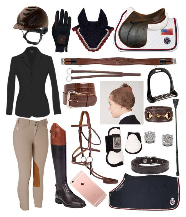 """""""black and brown?"""" by a-circuit-equestrian on Polyvore featuring Roeckl, Lorenzini and Effy Jewelry"""