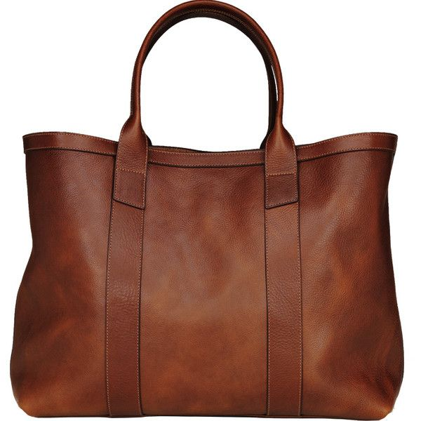 25  Best Ideas about Brown Leather Totes on Pinterest | Brown ...