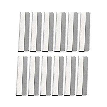 Men's Safety Razor Shaving Blade Vintage Steel Single Edge Razor Blades/50 PCS Review