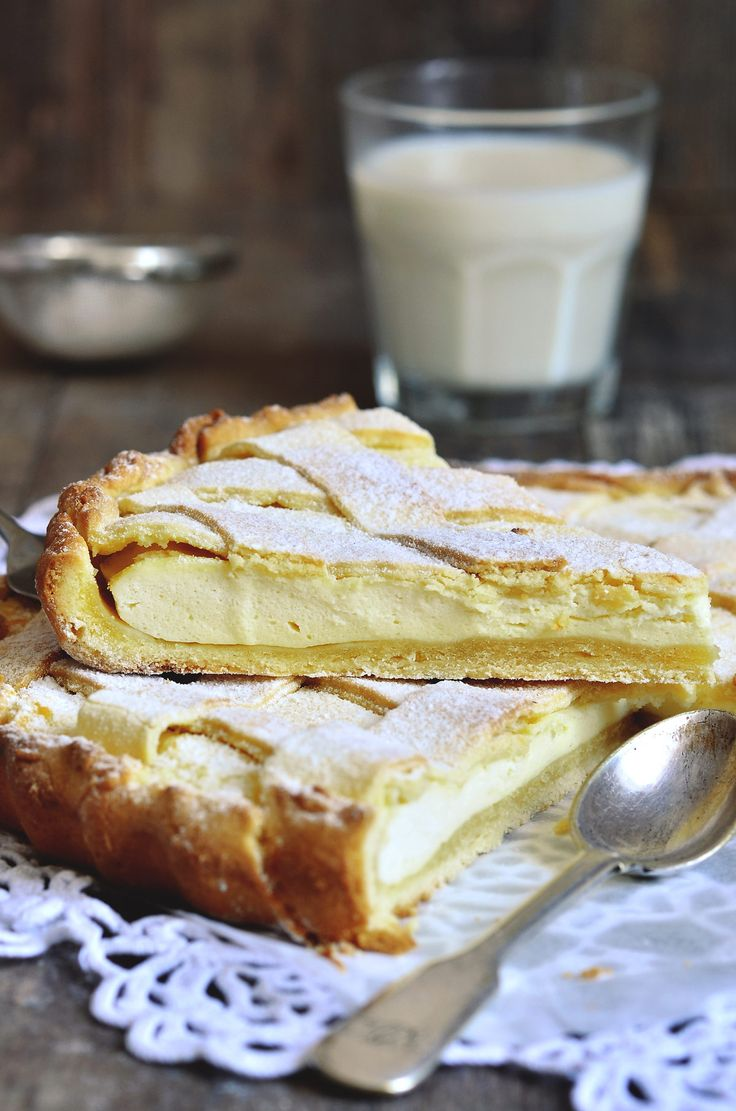 The Lemon Crostata is a winning combination of soft and flaky textures. Serve up something special at the dessert table.