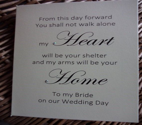 My heart is your shelter my arms your home by WendysWeddingCorner