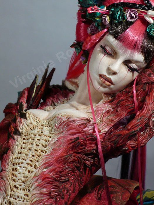 check out these dolls for amazing costume & makeup ideas... | French artist Virginie Ropars crafts and costumes these incredibly lifelike dolls. Her web page has lots more photos!