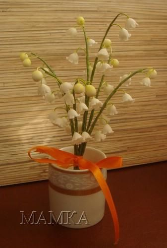 lily of the valley gumpaste flower tutorial