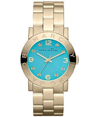 Montre pour femme : Marc by Marc Jacobs Watch Women's Gold Tone Stainless Steel Bracelet 37mm M