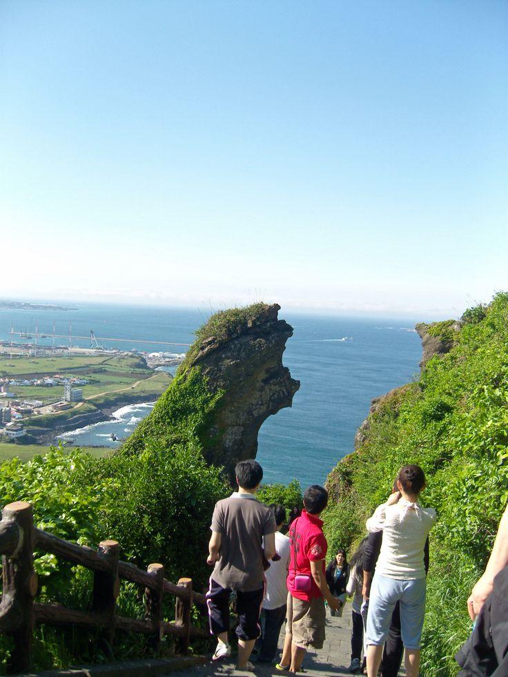 Seongsan Ilchulbong, South Korea Jeju Island in 2011