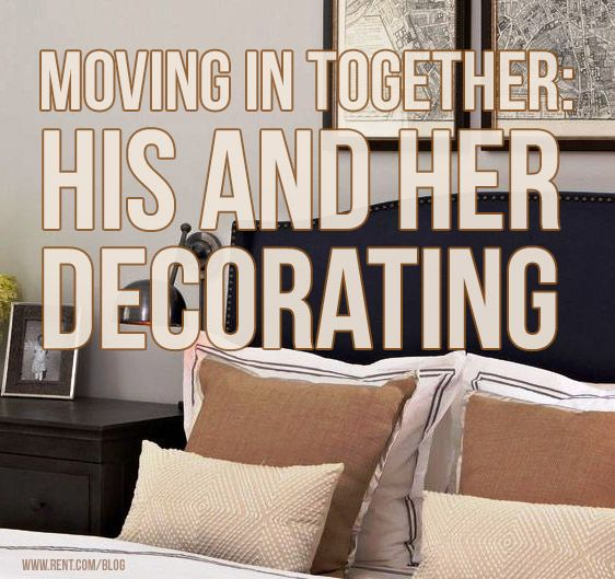 Moving in together is incredibly exciting and sure to be a rewarding experience. However, agreeing on a design aesthetic that balances both your styles is decidedly less thrilling. For when we buy a house :)