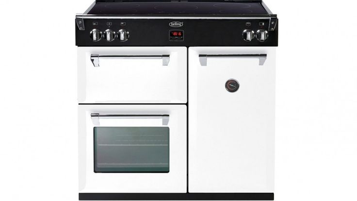 Belling 90cm Richmond Induction Range Freestanding Cooker - White