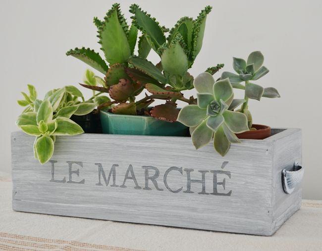 Hoy les presento un nuevo modelo de cajones: los cajoncitos Le Marché.